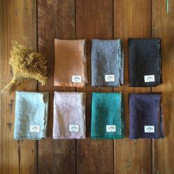 린넨 바이컬러 키친크로스 : linen tablemat[7colors]