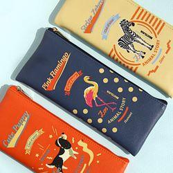 Animal story pencil case