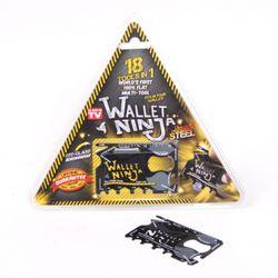 [정품] 18Tools in 1 Wallet Ninja 카드형 멀티공구