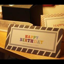 아이씨엘 카드-Birthday Ver.1