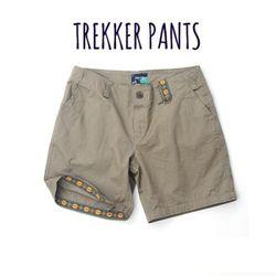 트레커 팬츠 01 Khaki color