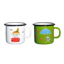 [Muurla]Moomin enamel mug LittleMy 250ml 머그