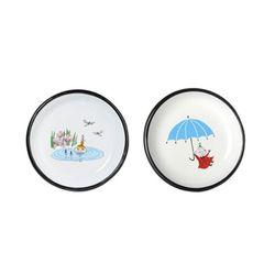 [Muurla]Moomin enamel plate Little My플레이트