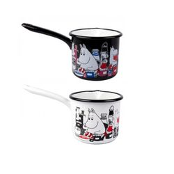 [Muurla]MoominJam enamel saucepan 1.3L 소스팬