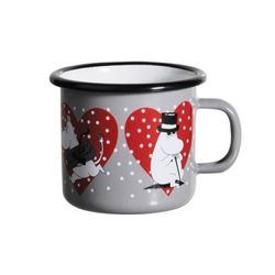[Muurla]Moomin Heart enamel mug250 ml 1705-025-39