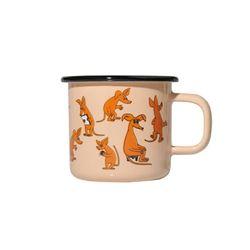 [Muurla]Moomin enamel mug 370ml1701-030-09 머그