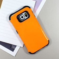 [무료배송] [ARTY CASE] S6범퍼케이스 오렌지