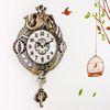 코끼리 저소음벽시계 골드(ksp029)