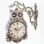 부엉이 양면시계 주석(ksp063)