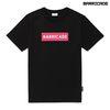 바리케이트 바인 티셔츠 - 블랙