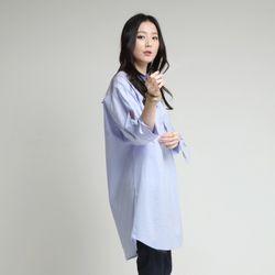 소매 긴 트임으로 유니크흔 박시 롱nb(SA15030316)