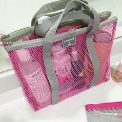 [IN THE BAG] 비치 메쉬 백