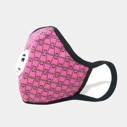 [아동용][보그마스크] Boo Pink Black N99 CV (S)