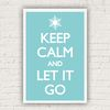 GN0808 Keep Calm and Let it Go (액자포함)