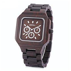 [비웰]Bewell The Baron (Chocolate) 우드손목시계
