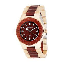[비웰]Bewell The Orin (Red & Maple) 우드손목시계