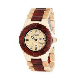 [비웰]Bewell The Orin (Red & Maple2) 우드손목시계