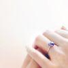 사랑의 수호석 : 2월 자수정 실버 링 (92.5 silver)