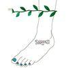 [smooch] ���� - Green Leaf Anklet