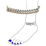 [smooch] 발찌 - Simple Chain Anklet