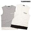 밴웍스 배색 포켓 SLEEVELESS 티셔츠 (V15TS040)