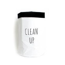 패브릭 장난감 수납 - CLEAN UP