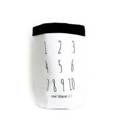 패브릭 장난감 수납 - My 123