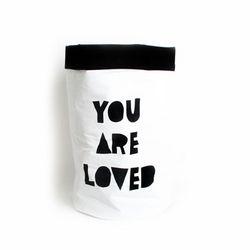 패브릭 장난감 수납 - YOU ARE LOVED