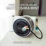 렌즈캡홀더 마트료시카민트 14cm COCOWERK