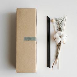 목화폼폼 스틱(단품)