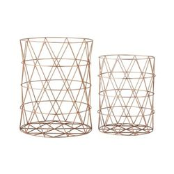 [BloomingVille]Storage Basket Set of 2 55000036