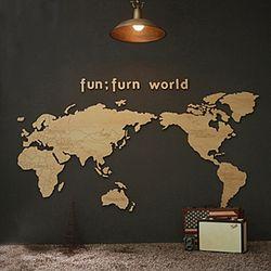 fj01-펀펀월드(우드세계지도)2000