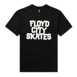 FLOYD CITY PRINT TS [BK]
