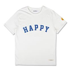 HAPPY HEAVYWEIGHT TEE OFF WHITE
