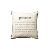 [BloomingVille]Cushion Peace 50x50cm 쿠션958014