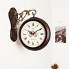 로망스 양면시계 브라운 (kcp019)