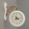 로망스 양면시계 화이트 (kcp018)