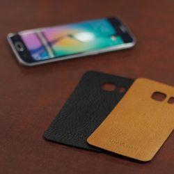 갤럭시S6 엣지 (Galaxy S6 edge) 심플 가죽스킨  필름