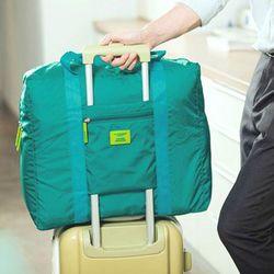 폴딩백 여행용 보스톤가방