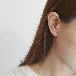 큐빅별자리 귀걸이