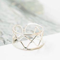 925 다이아몬드라인 반지