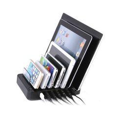 MAXTEK 7포트 스마트폰 멀티 충전기 USB AC CHARGER