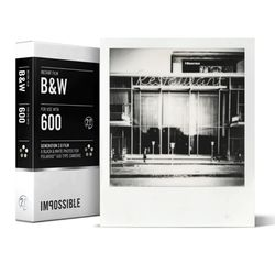 IMPOSSIBLE POLAROID 2.0 B&W Film for 600Cameras
