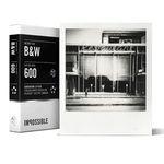 IMPOSSIBLE POLAROID 2.0 B&W Film for 600Cameras