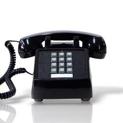 [코텔코] 오리지널 빈티지 유선전화기 블랙