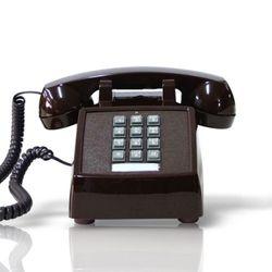 [코텔코] 오리지널 빈티지 유선전화기 브라운