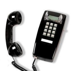 [코텔코] 오리지널 빈티지 벽걸이유선전화기 블랙