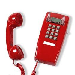 [코텔코] 오리지널 빈티지 벽걸이유선전화기 레드