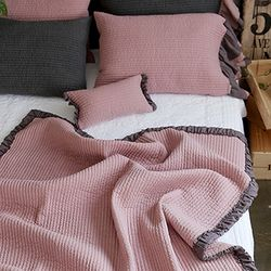 데이지 핑크 블랭킷(135X180)
