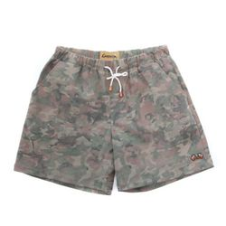 COTTON SPAN SHORT PANTS(CAMO)